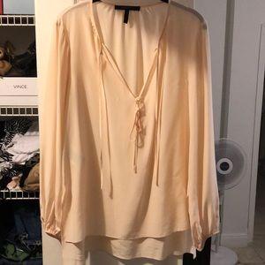 Beautiful silk BCBG blouse